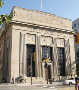 By Colin Rose from Montreal, Canada (Bank of Montreal  Uploaded by Skeezix1000) [CC BY 2.0 (http://creativecommons.org/licenses/by/2.0)], via Wikimedia Commons