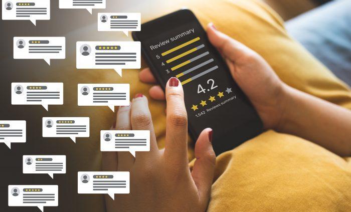 Consumer feedback review
