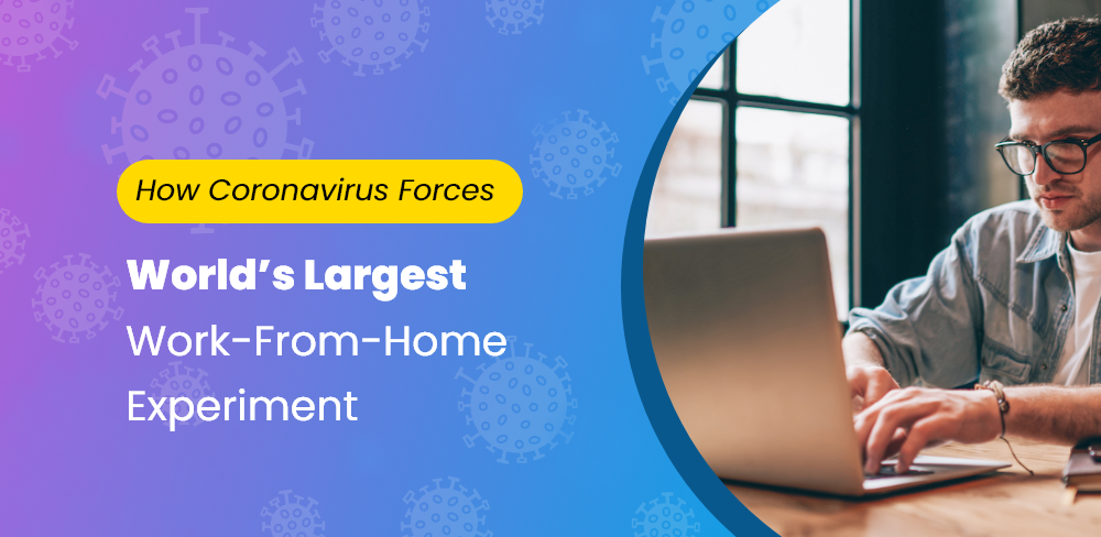 How Coronavirus Is Creating A Huge, Stressful Experiment In Work From Home Culture