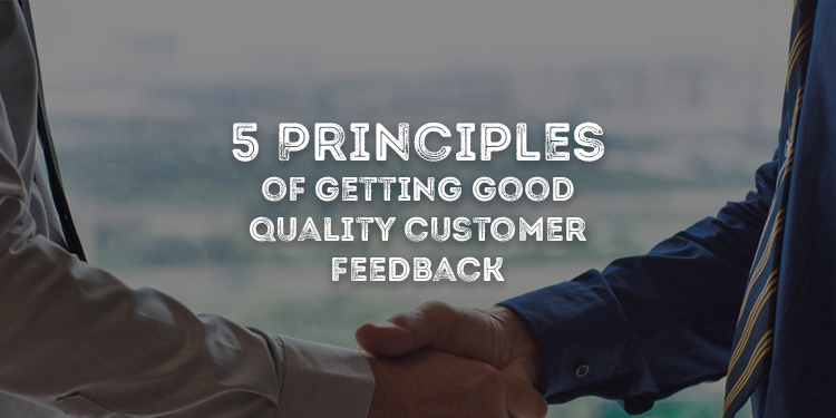 5 Principles Of Customer Feedback