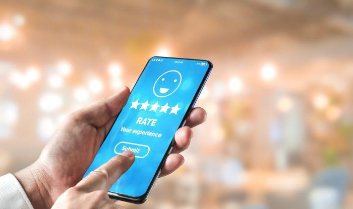 Customer review satisfaction