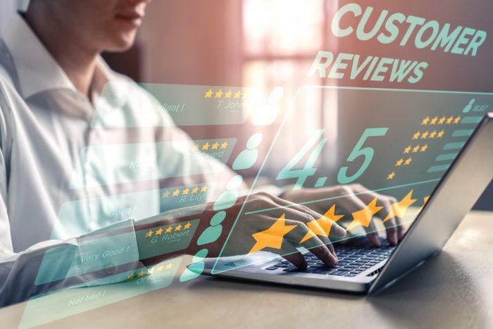 customer review ranking