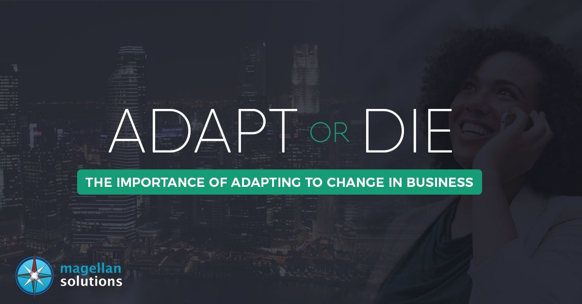 importance of adapting to change in business