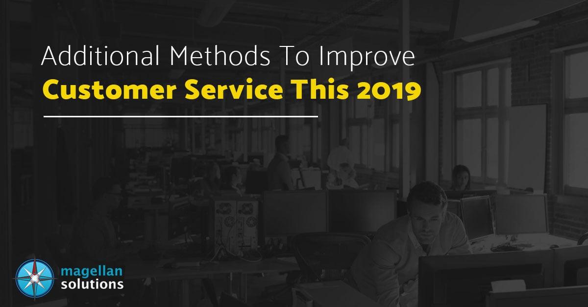 improve customer service 2019