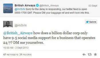 British Airways example