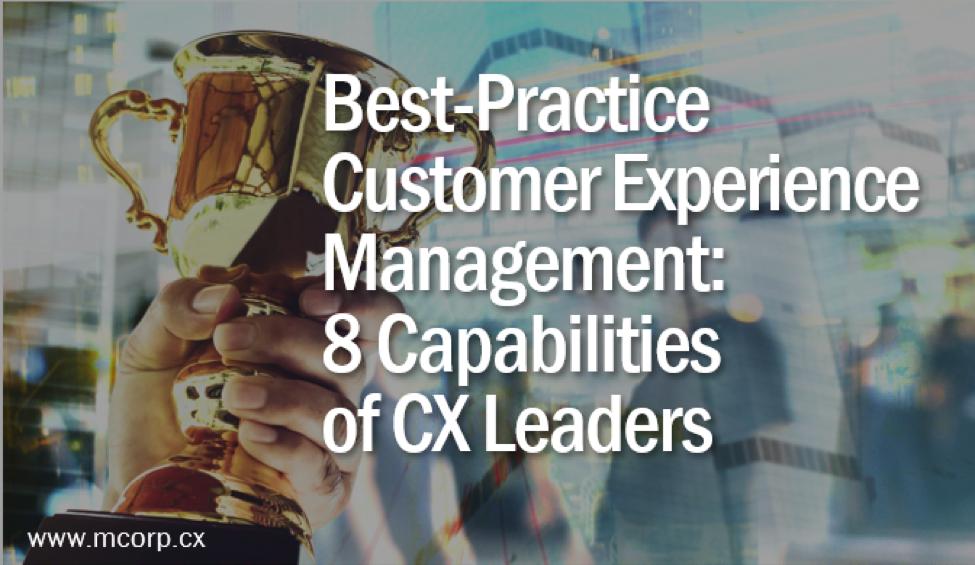 McorpCX CXM Best Practices