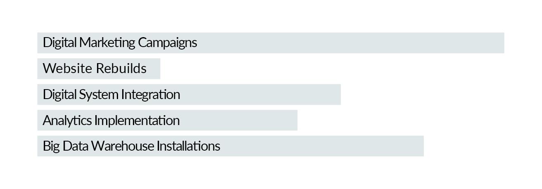Popular Project Chart