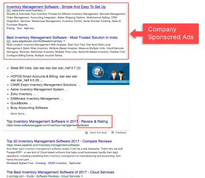 Visitors love Comparison charts over Sponsored Ads- Image 1