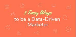 Data driven marketer