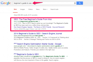 How a Twitter Tweet By Smashing Magazine Helped Moz's article rank among the top searches