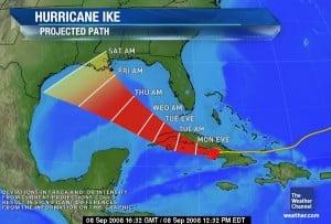 Hurricane Path