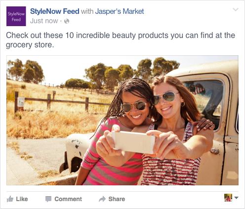 Image 8 - Sponsored mentions - Facebook ads