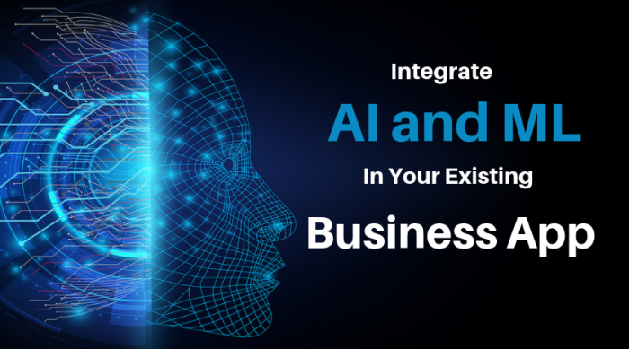 Reasons Why You should Integrate AI and ML in Your Existing Business App