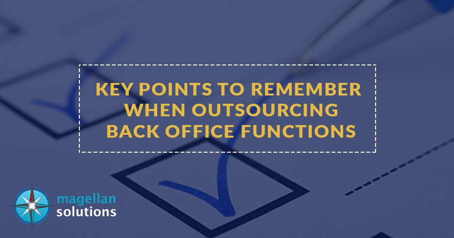 outsourcing back office functions
