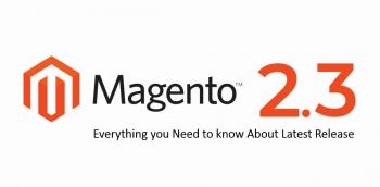 Magento 2.3 release