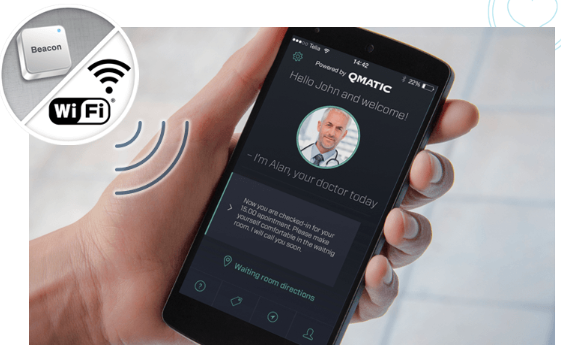 Qmatic Mobile iBeacon