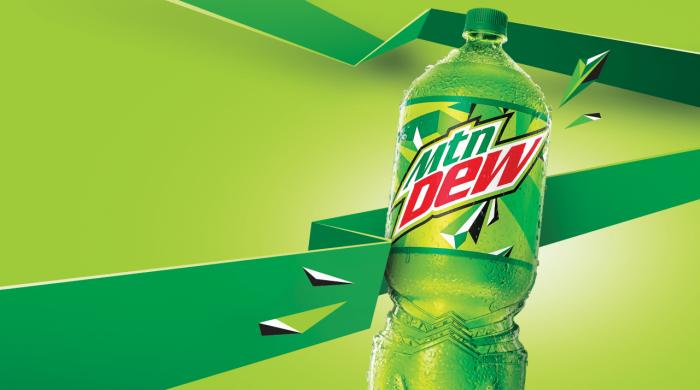 New Design for Mountain Dew Two-Liter Bottle