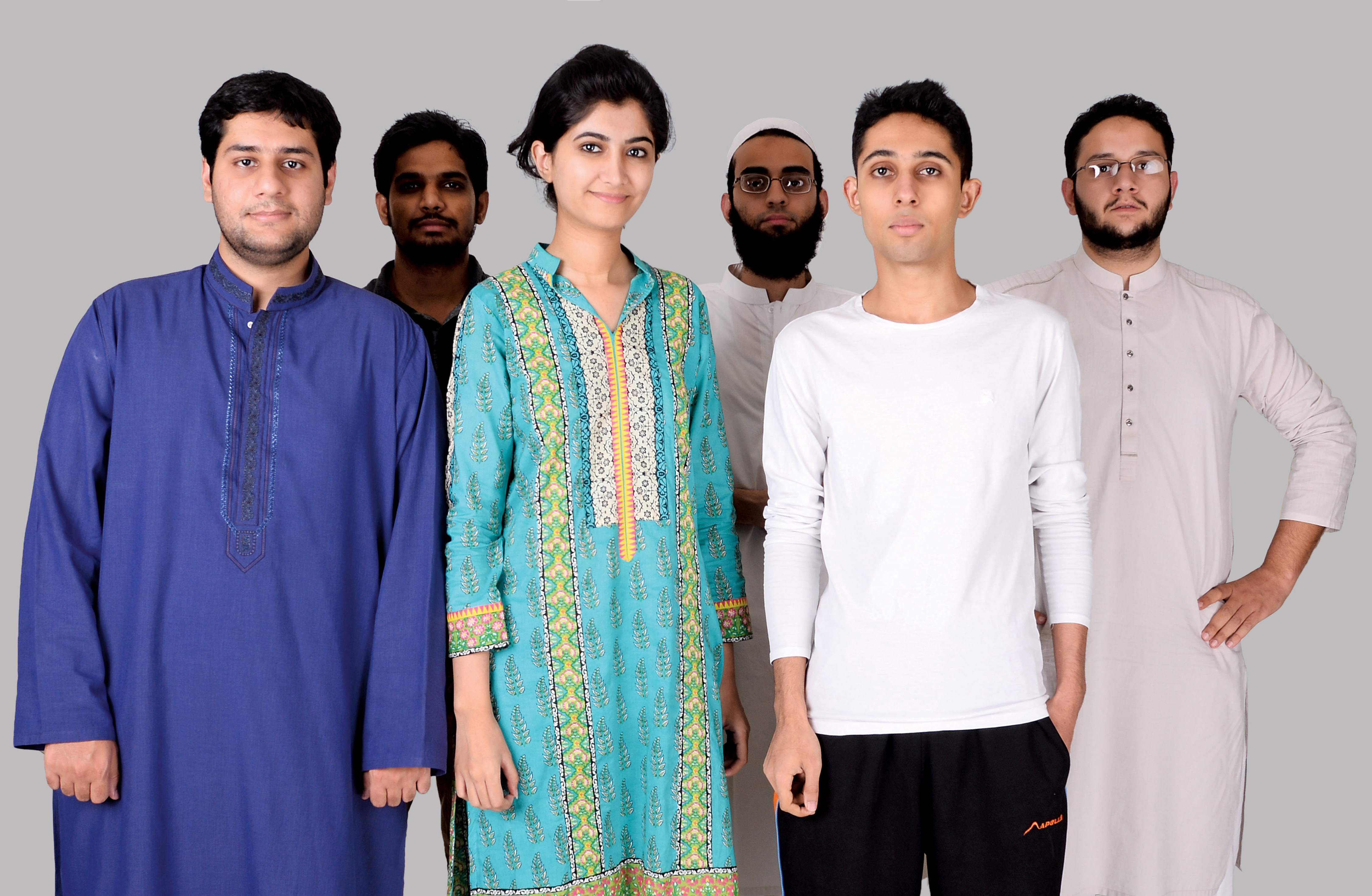 Mehreen Omer and Shopistan's marketing team.