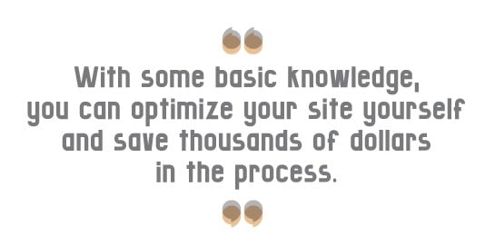 Optimize your site & save money