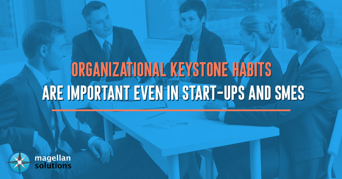 organizational keystone habits