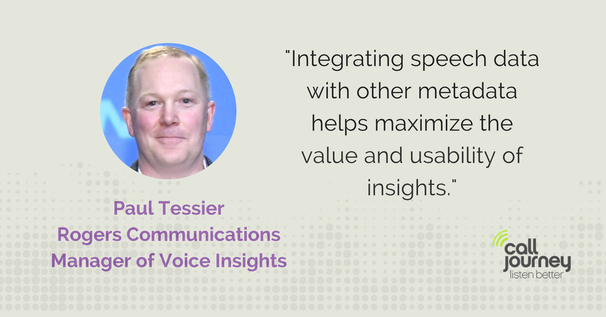Paul Tessier How to implement Speech Analytics