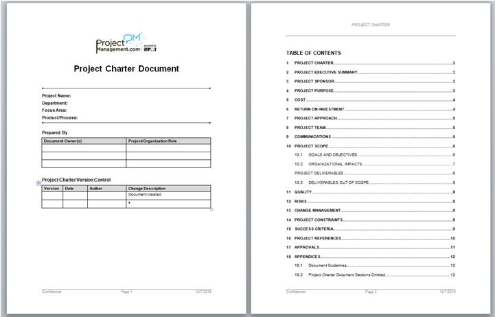 Kill The Word Doc – Build A Visual Project Charter™ Instead
