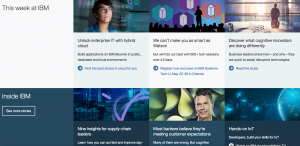 IBM Home Page