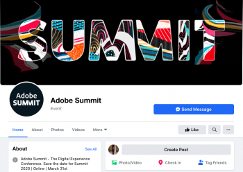 adobe summit virtual event