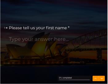 virtual event form