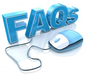 Self-service options like FAQs can aid the customer experience.