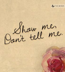 Show me; Don't Tell Me - Image 7