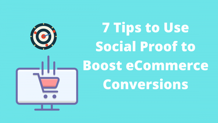 social proof to boost eCommerce conversion