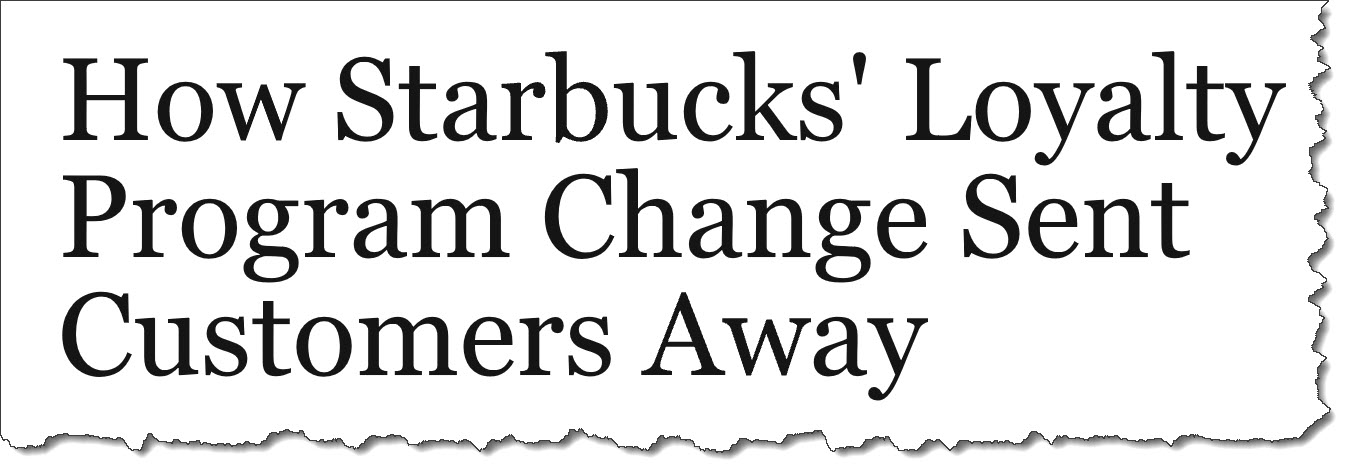 How Starbucks Loyalty Changes Sent Customers Away