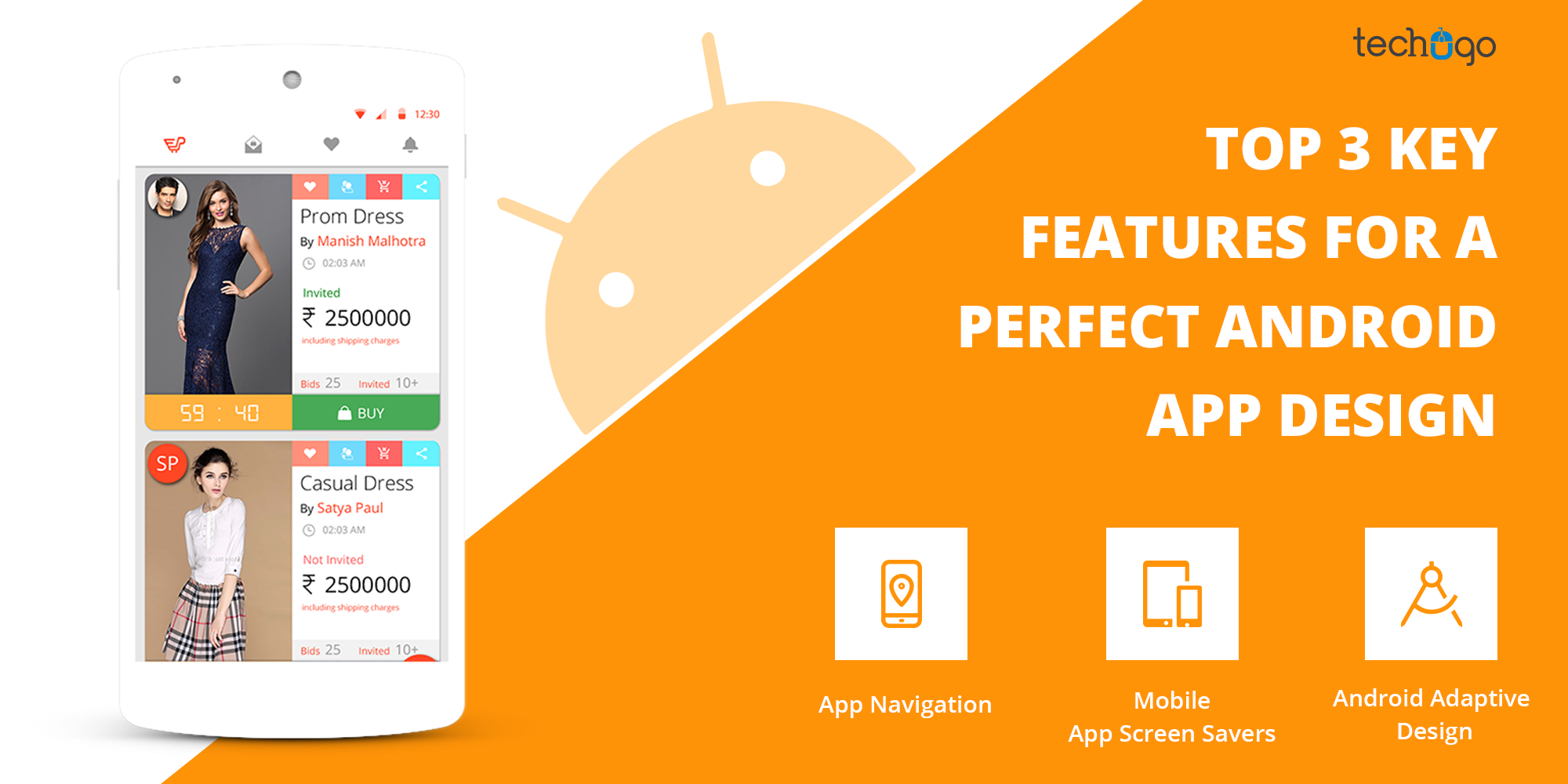 TOP 3 KEY FEATURES FOR A PERFECT ANDROID APP DESIGN