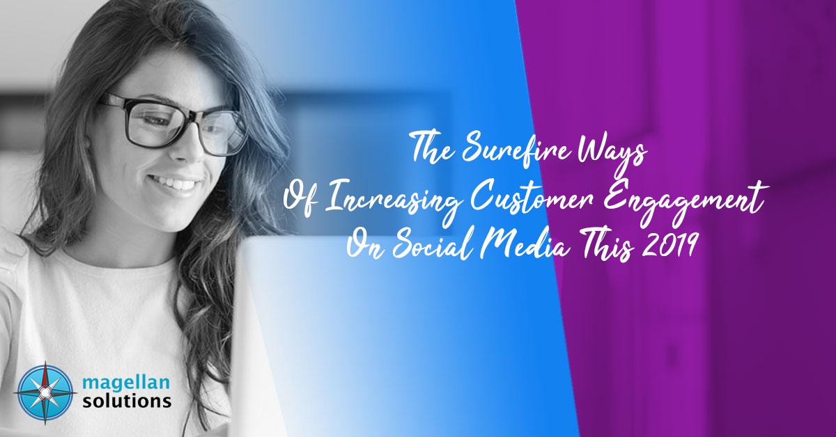 increasing customer engagement on social media