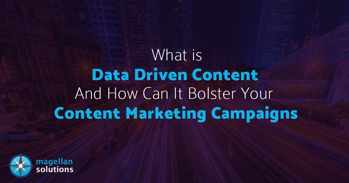 data driven content