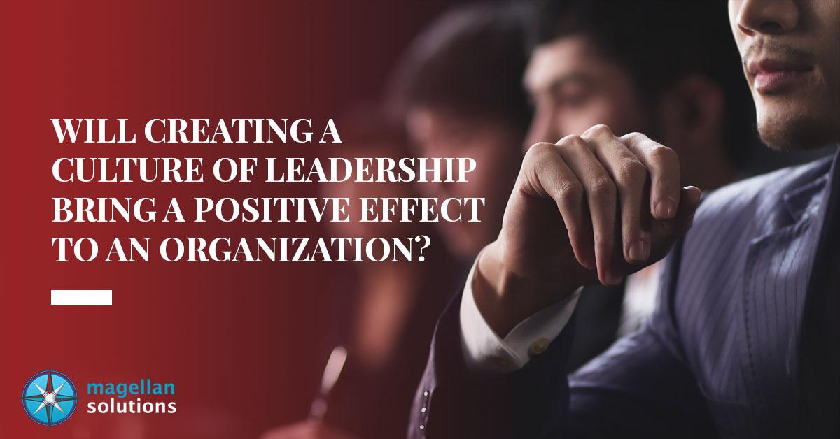 culture of leadership