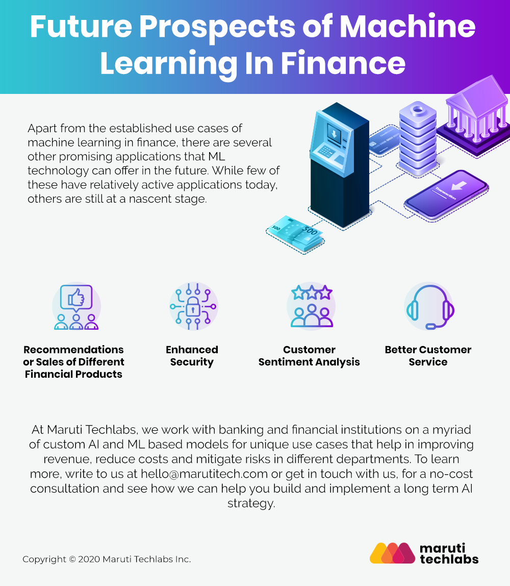 Future Prospects of Machine Learning In Finance
