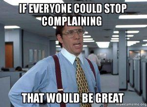 complaing meme