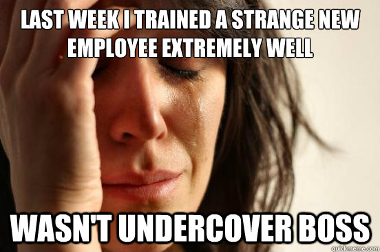employee training undercover boss