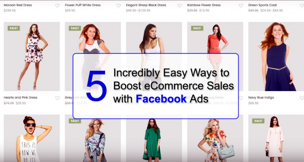 boost eCommerce sale with facebook ads