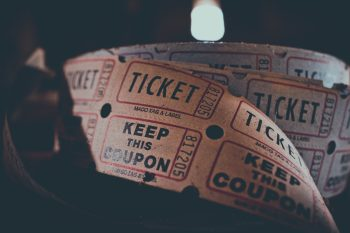 Tickets. Photo by Fancycrave
