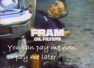 CRM - Pay me now or pay me later