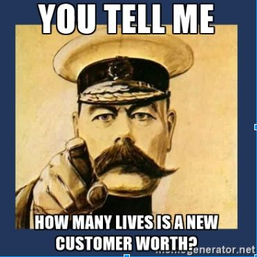 customer retention strategies- How many lives your new customer worth