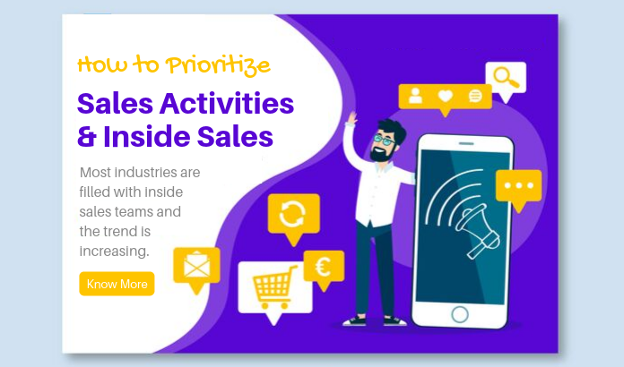 How to Prioritize Sales Activities Inside Sales