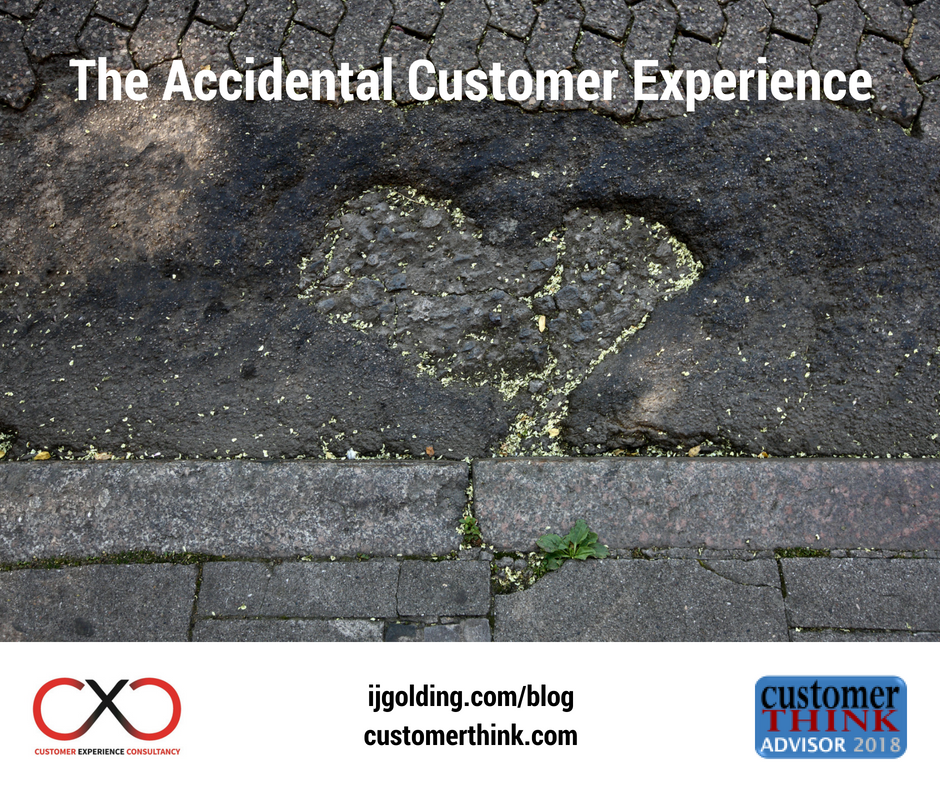 The Accidental Customer Experience