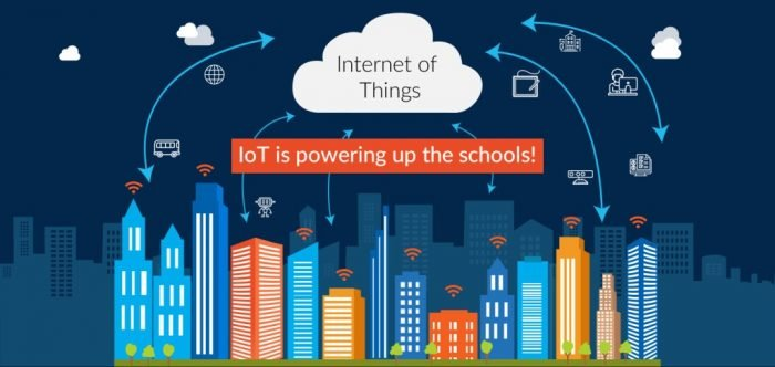 internet of things IoT Education  - internet of things IoT powering up schools 700x332 - Five Ways the Internet of Things is Changing for Education and Learning