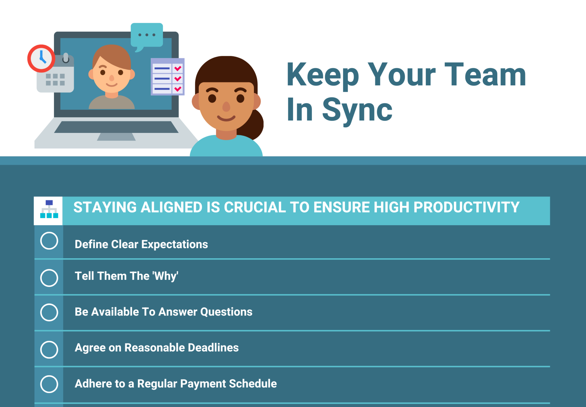 keep your team in sync