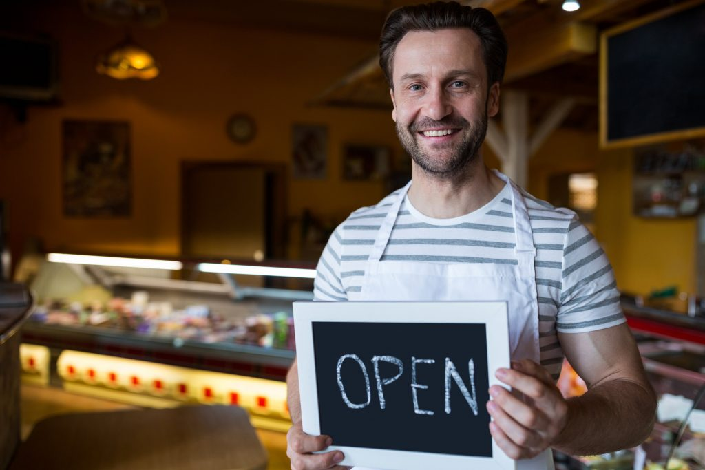 small business owner bakery