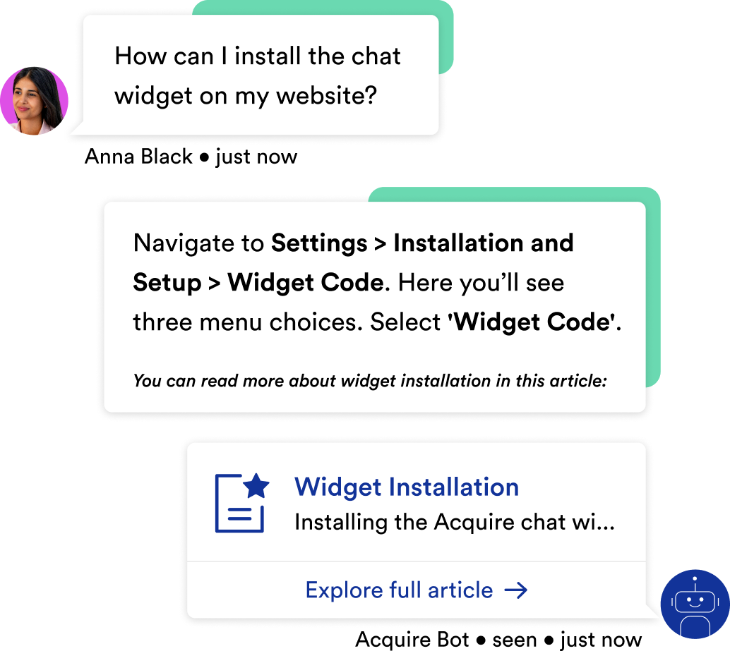 use live chat to provide real time support